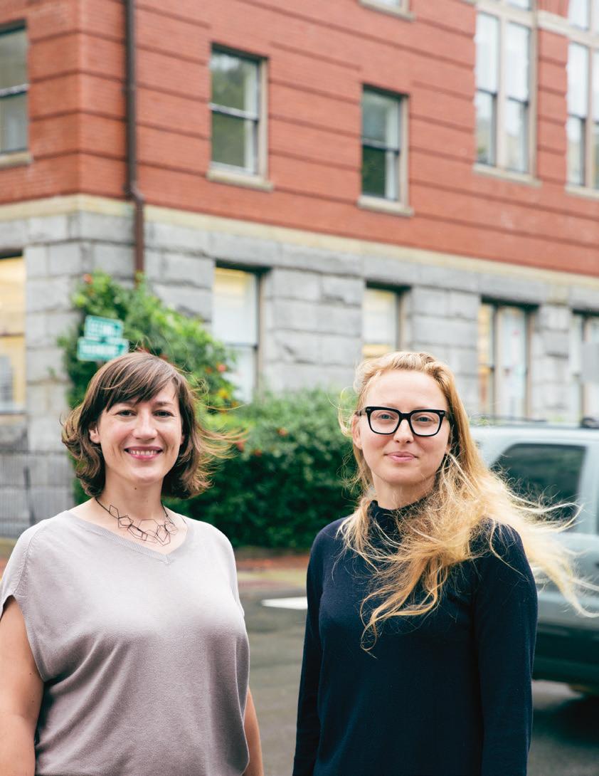 Du laboratoire à l'économie: deux des fondatrices de soofa, Jutta Friedrichs et Sandra Richter, ont déjà su s'imposer dans le milieu des start-up.