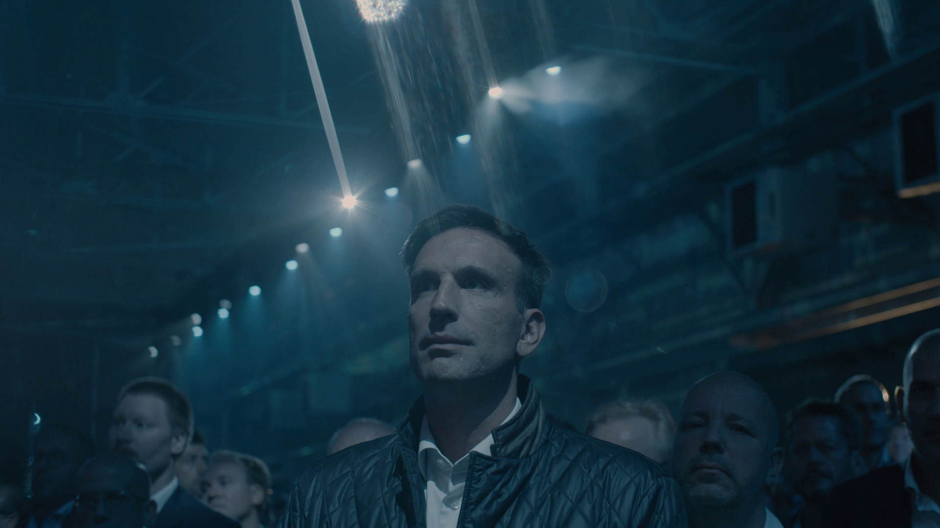 Nadir Mandioni bei der Weltpremiere des Audi e-tron.