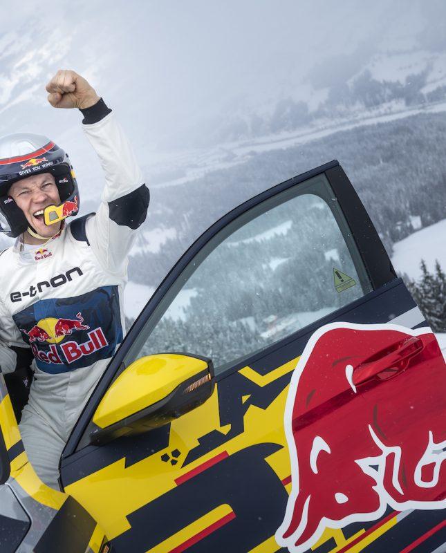 Il campione mondiale di rallycross Mattias Ekström ha vinto la sfida della «Mausefalle». (Foto: AUDI)