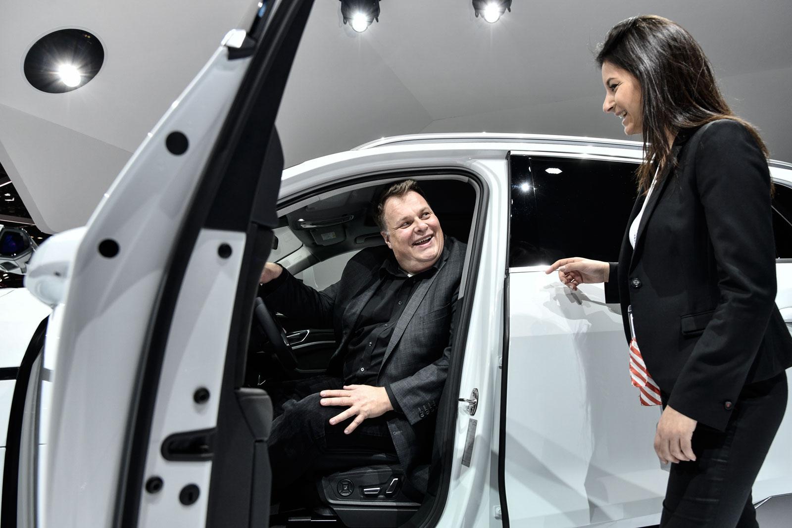 Pour Lars Thomsen, le futur de la circulation routière sera «économique, sûr et détendu».