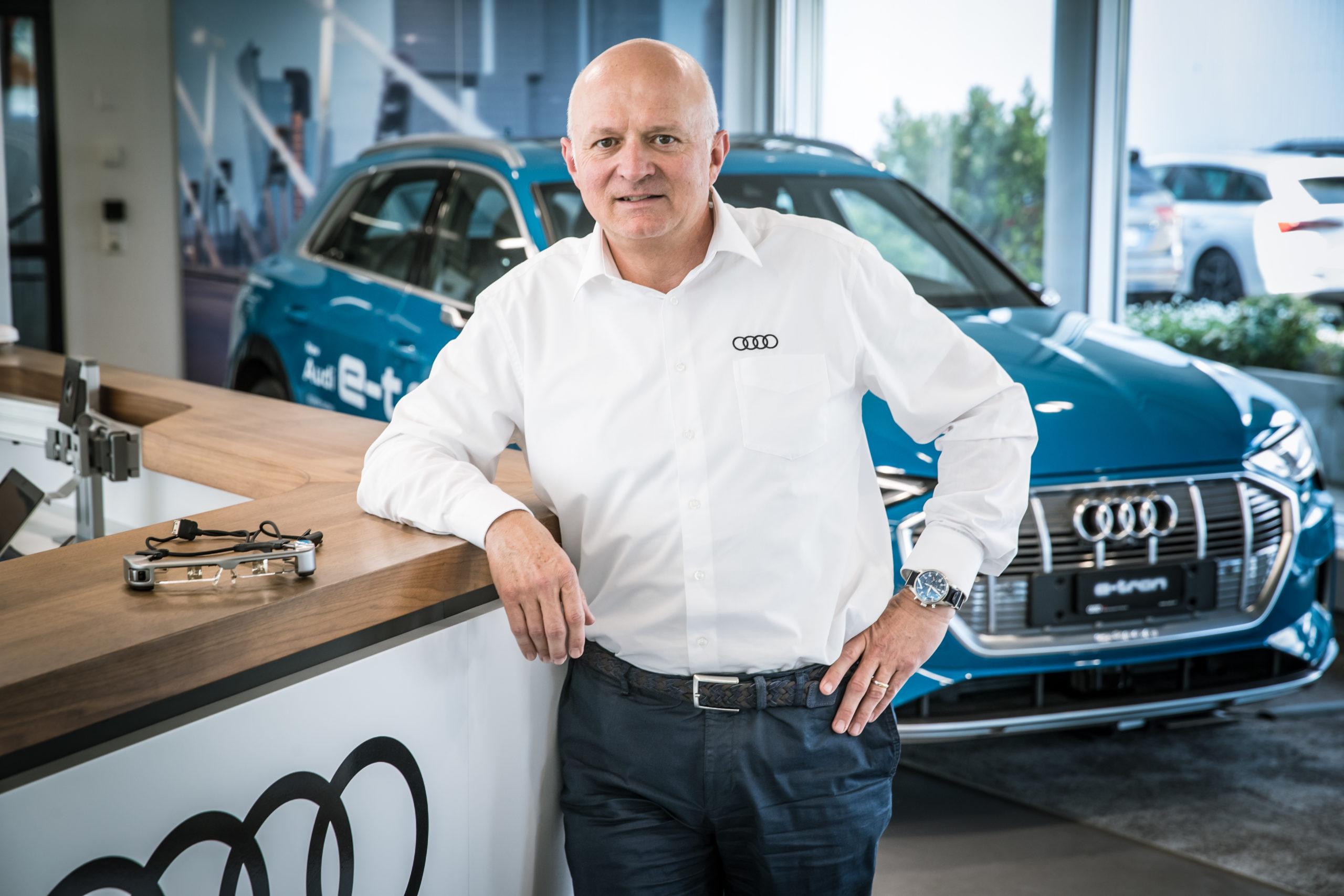 Peter Schmid, expert en mobilité électrique. (Philippe Rossier)
