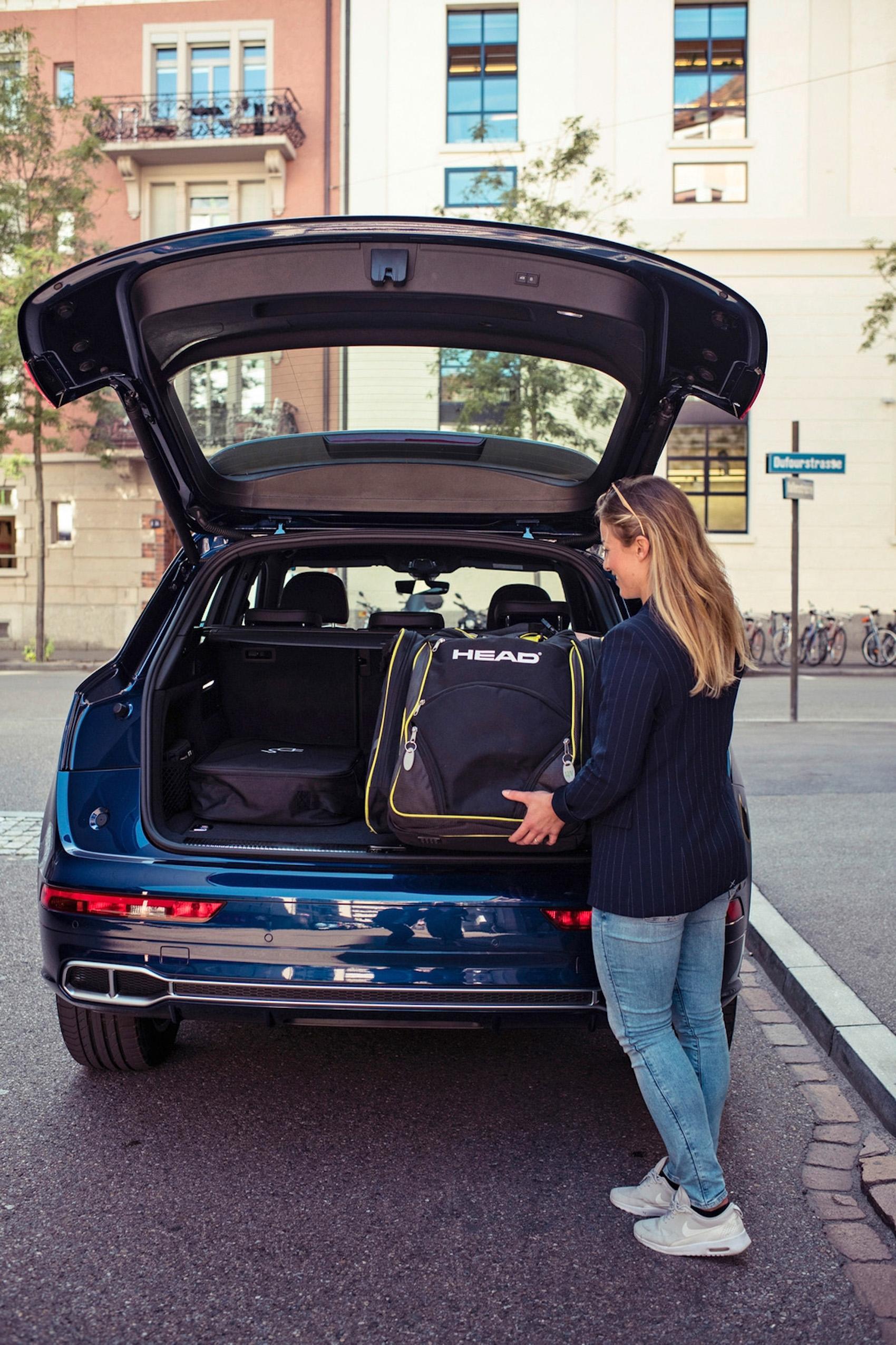 Et pour un grand voyage, le coffre offre un espace généreux pour les bagages.