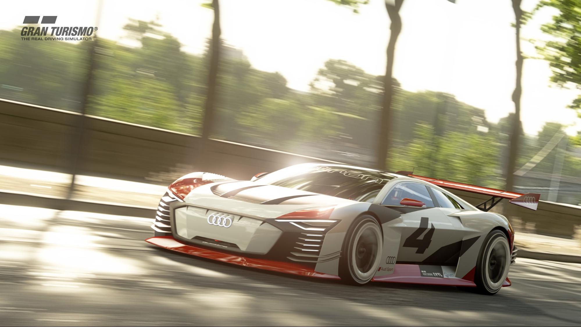 La simulation de course GranTurismo sur la PlayStation4 fait figure de référence. (AUDI)