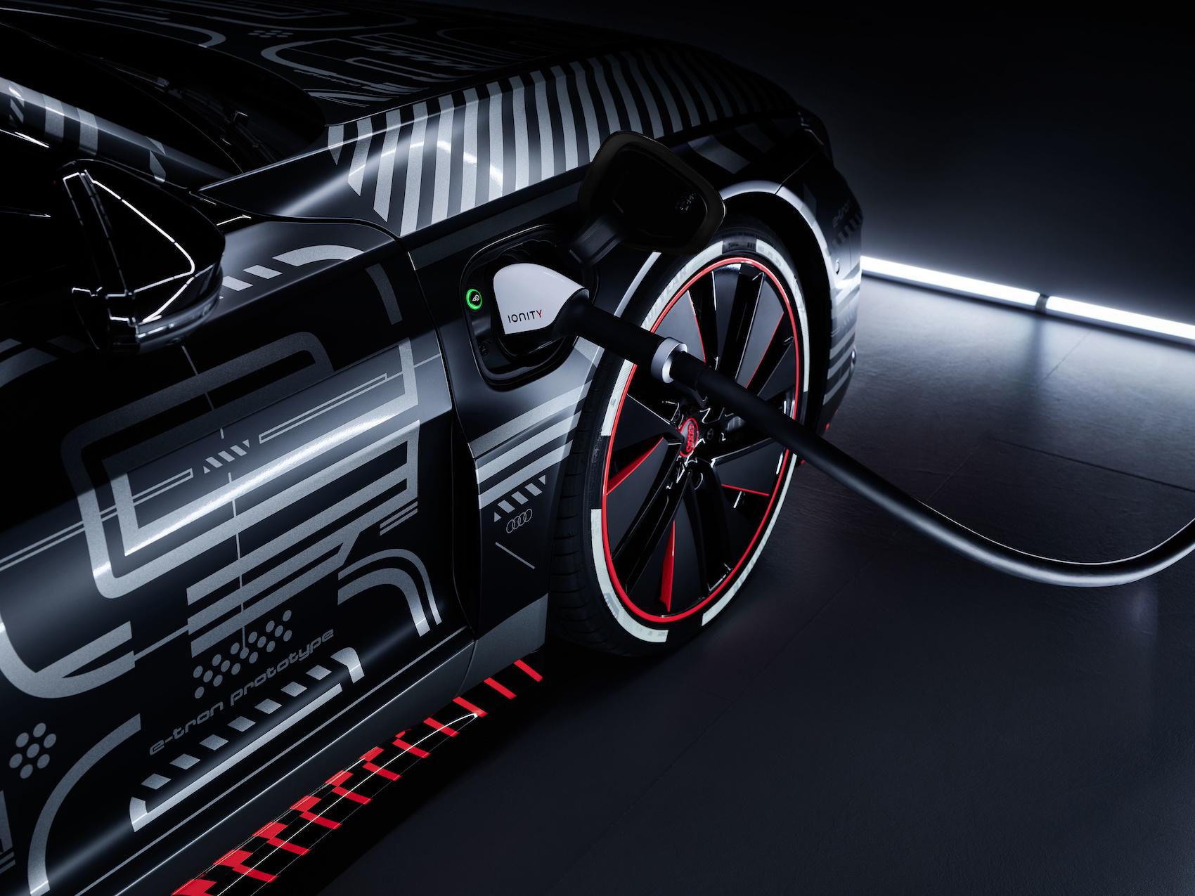 L'e-tron GT est la première Audi purement électrique fabriquée en Allemagne. (Audi)